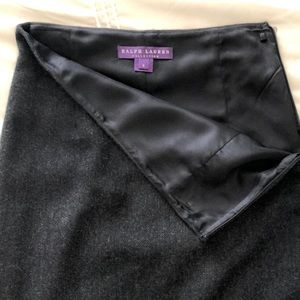 Ralph Lauren collection cashmere pencil skirt